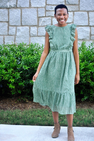 Rachel Ruffle Dress