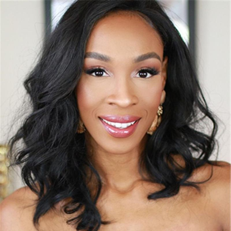 FUHSI Lace Front Wigs for Black Women 009-2#-1