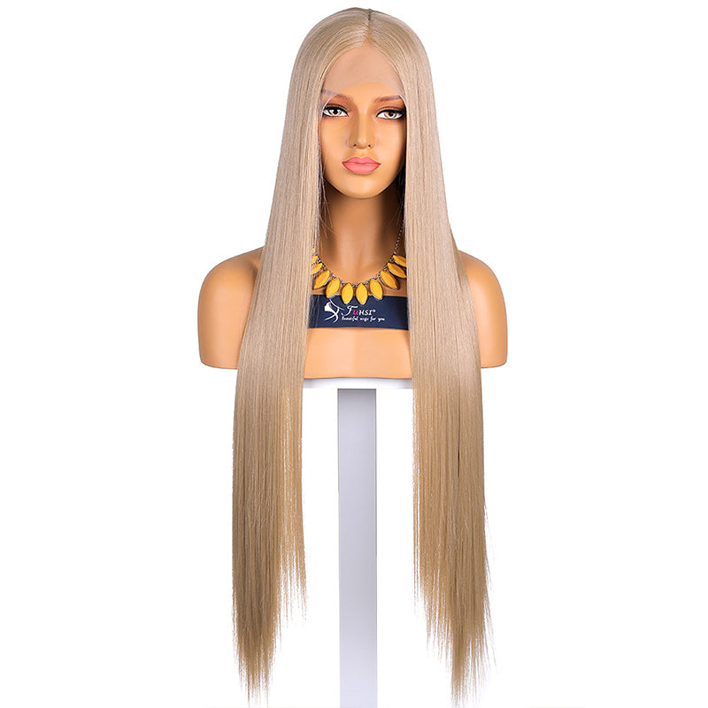 Fuhsi T Part Synthetic Lace Wigs Straight Hair 103#
