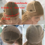 Fuhsi wigs lace front wigs 60# Straight-6