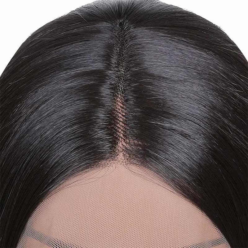 FUHSI® Natural Hair T part Synthetic Simple Lace Wig