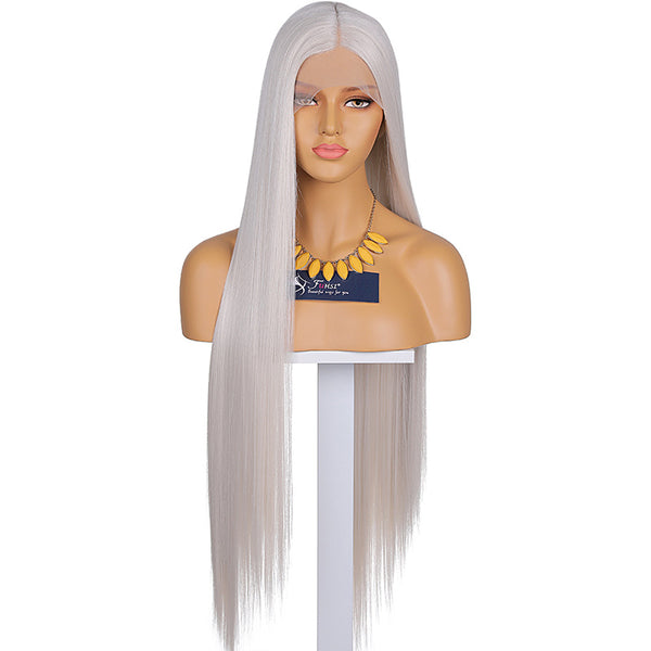 FUHSI® Lace Front Wig T Part Lace Synthetic Hair