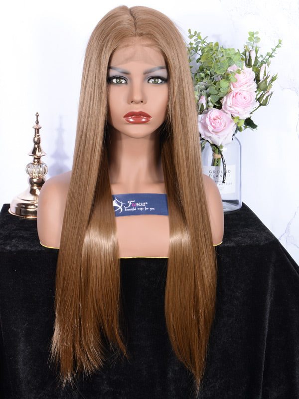 FUHSI Lace Front Wig  Straight Color-10#-1