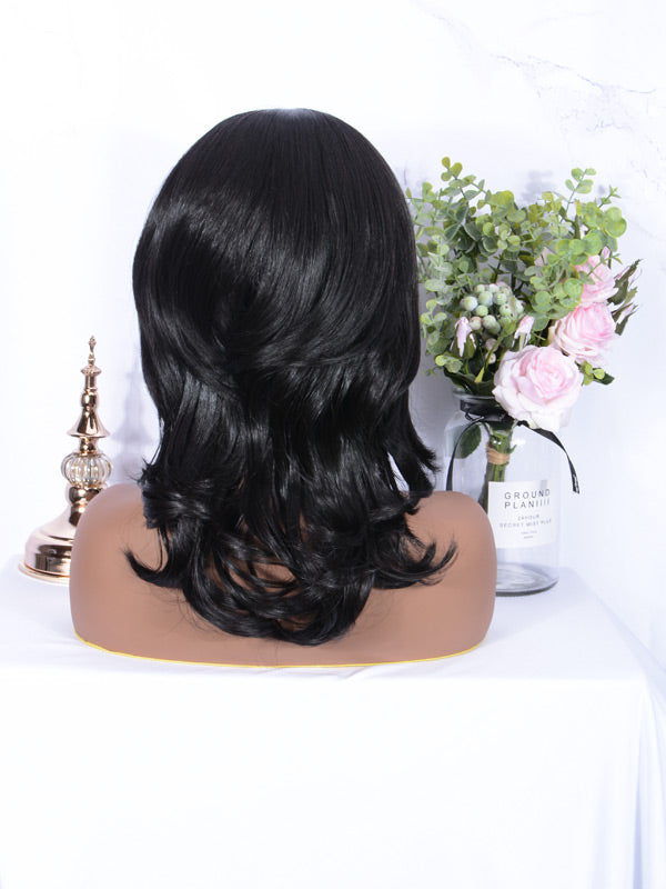 FUHSI Lace Front Wigs for Black Women 009-2#-5
