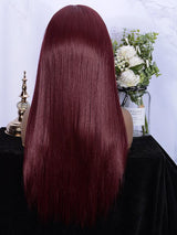 Fuhsi Wigs Lace Front Wig- 39#-Straight-6