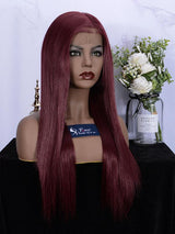 Fuhsi Wigs Lace Front Wig- 39#-Straight-4