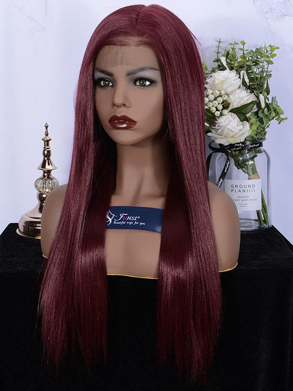 Fuhsi Wigs Lace Front Wig- 39#-Straight-5