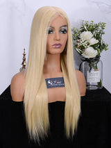 Fuhsi wigs lace front wigs 613#-straight-3