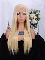 Fuhsi wigs lace front wigs 613#-straight-1