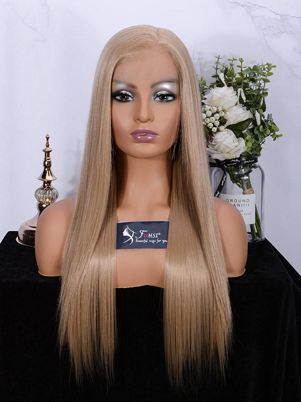 Fuhsi wigs lace front wigs 103#-straight-1