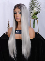 Fuhsiwigs full lace wigs 2T60#-straight-5