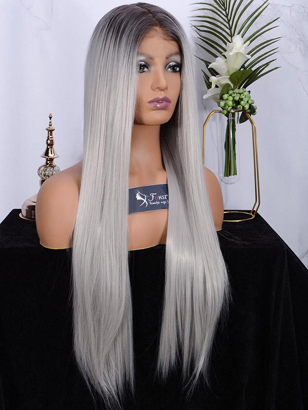 Fuhsiwigs full lace wigs 2T60#-straight-4
