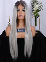 Fuhsiwigs full lace wigs 2T60#-straight-1