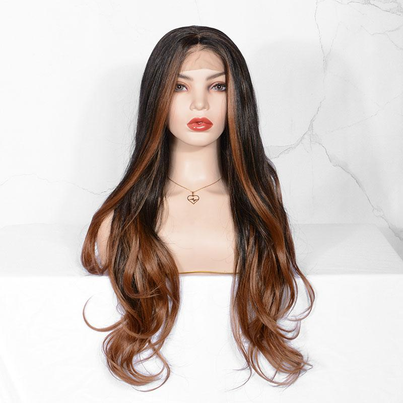 synthetic lace front wigs-mildwild
