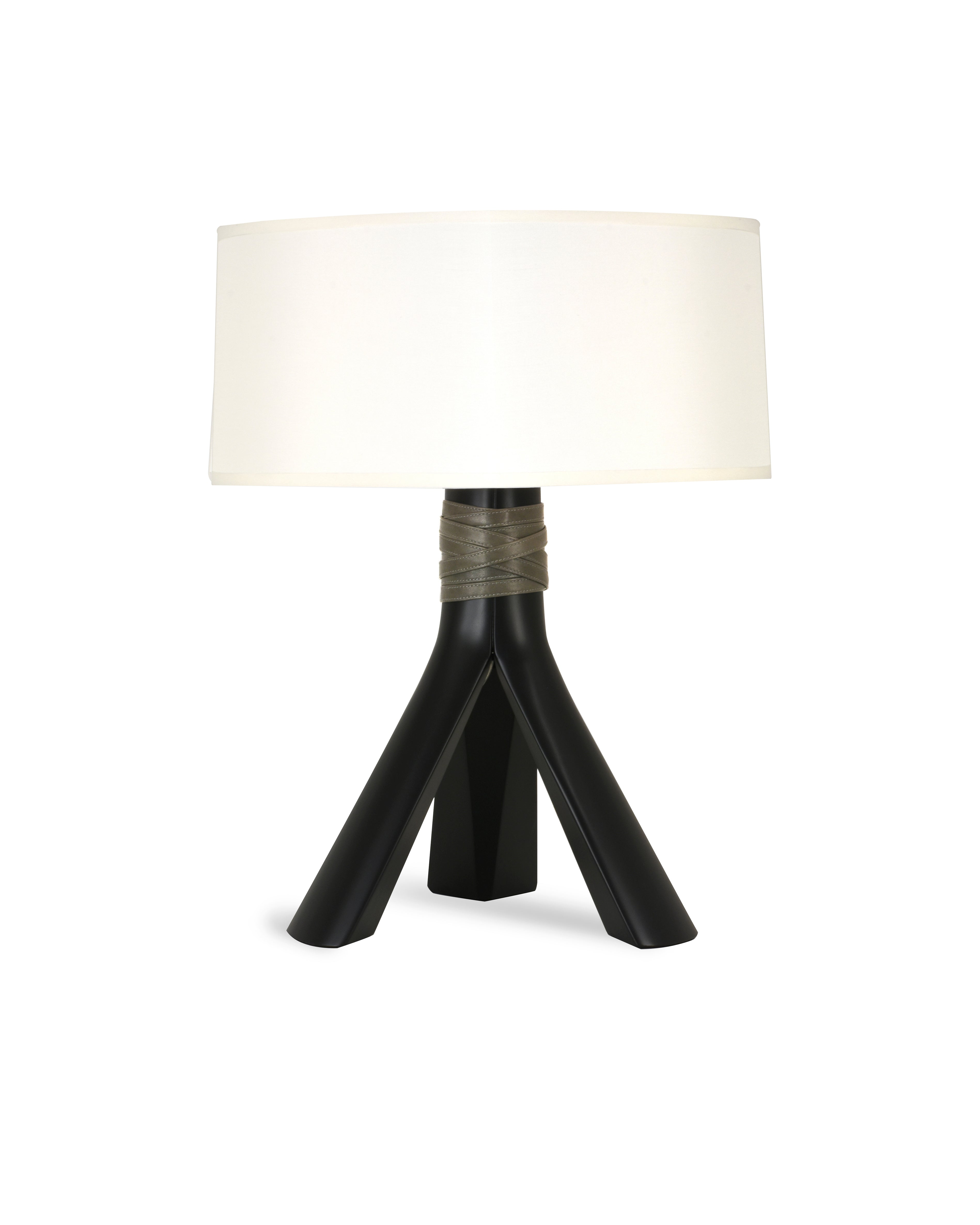 Avanti Table Lamp Gloss Black Lacquer