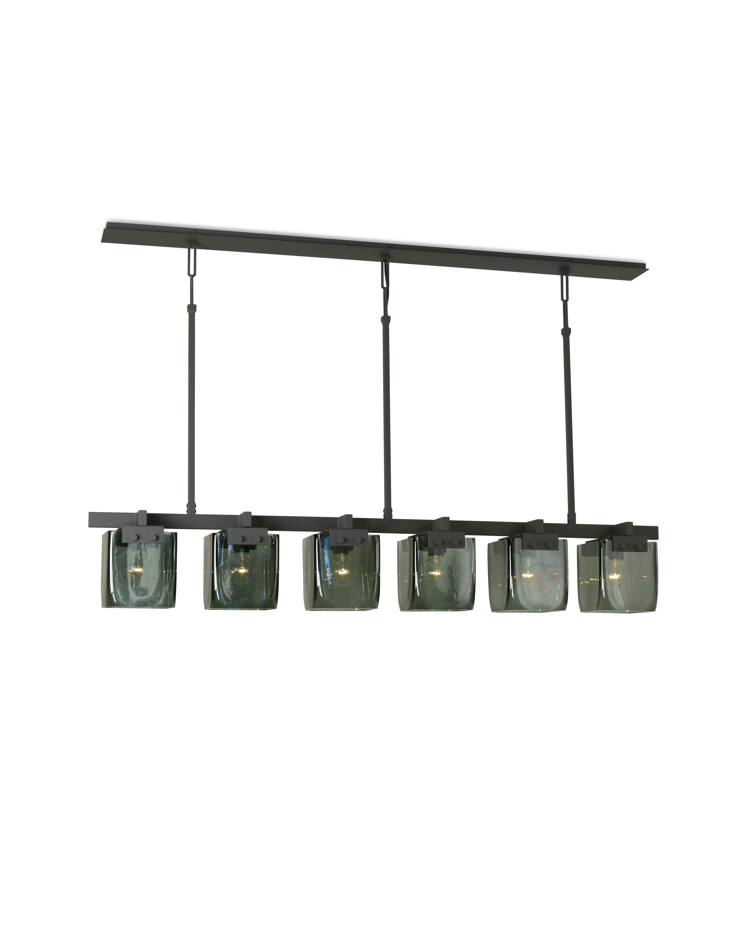 Cambridge Chandelier Matte Black Powder Coat