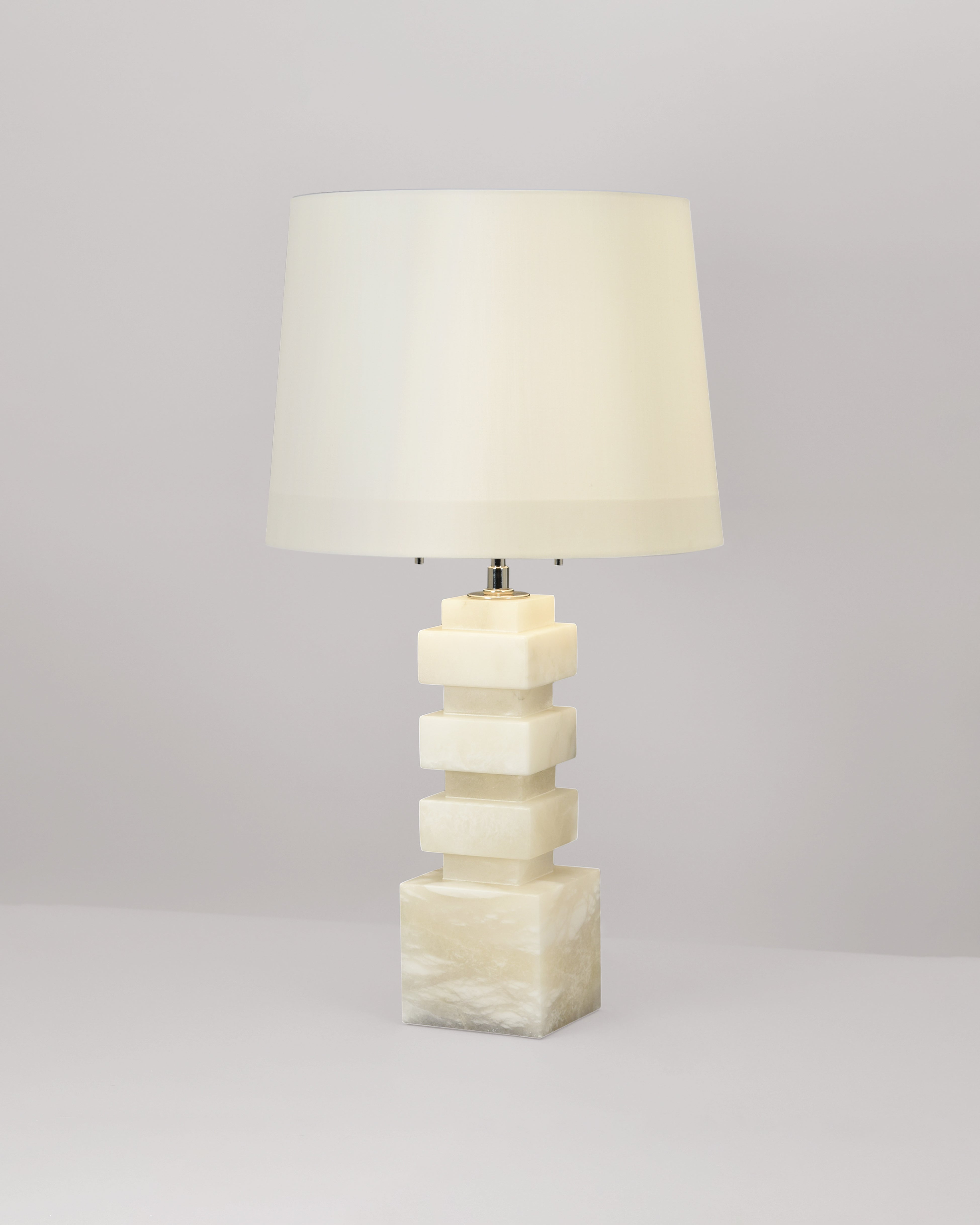 Hammond Table Lamp - Alabaster