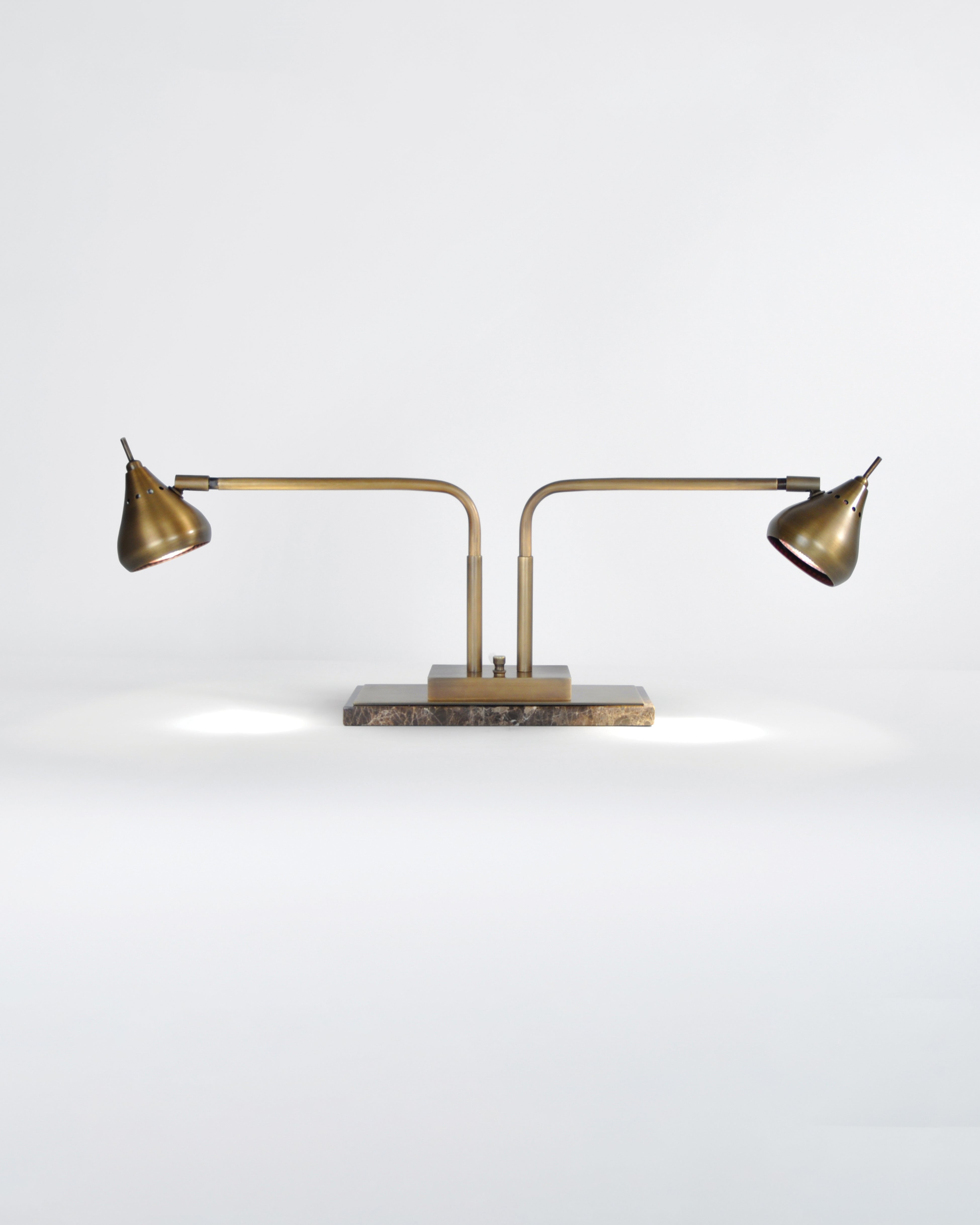Light Antique Brass with Madera