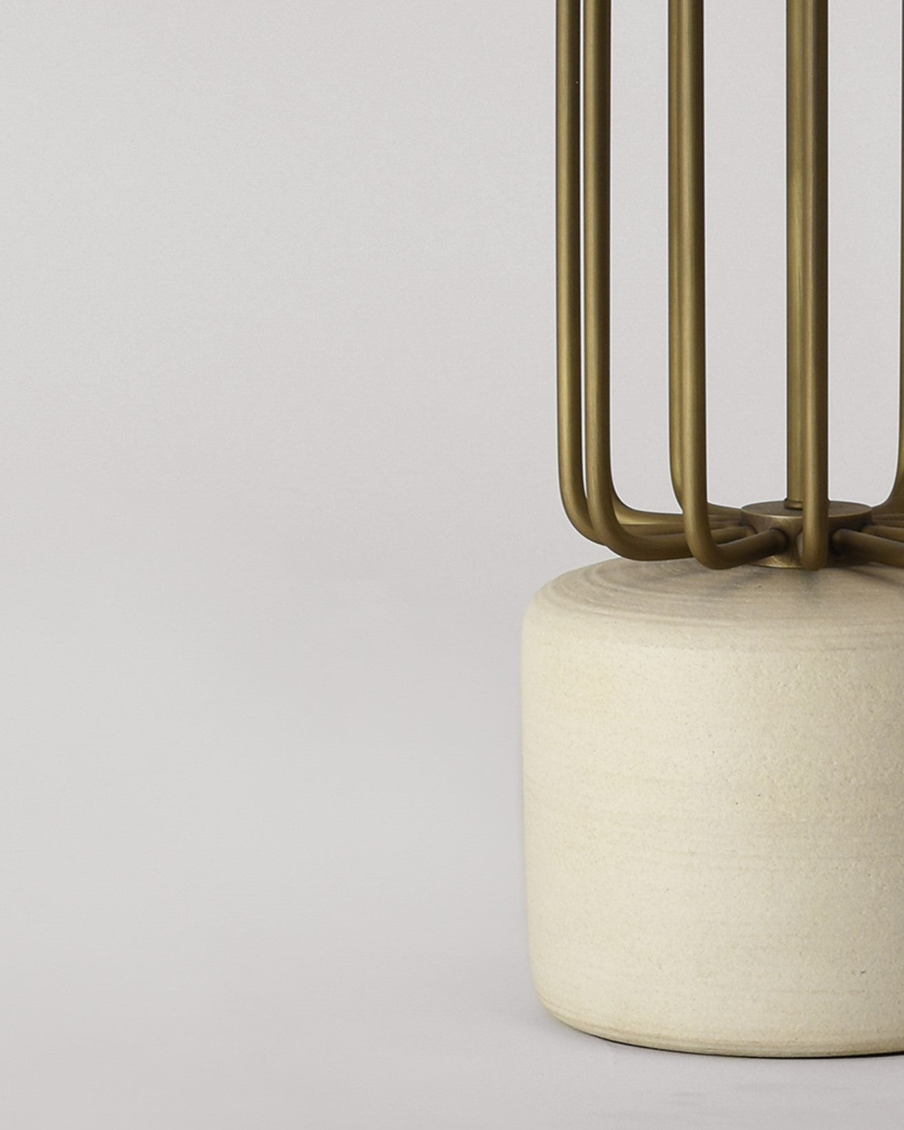 Detail: Cashmere with Light Antique Brass