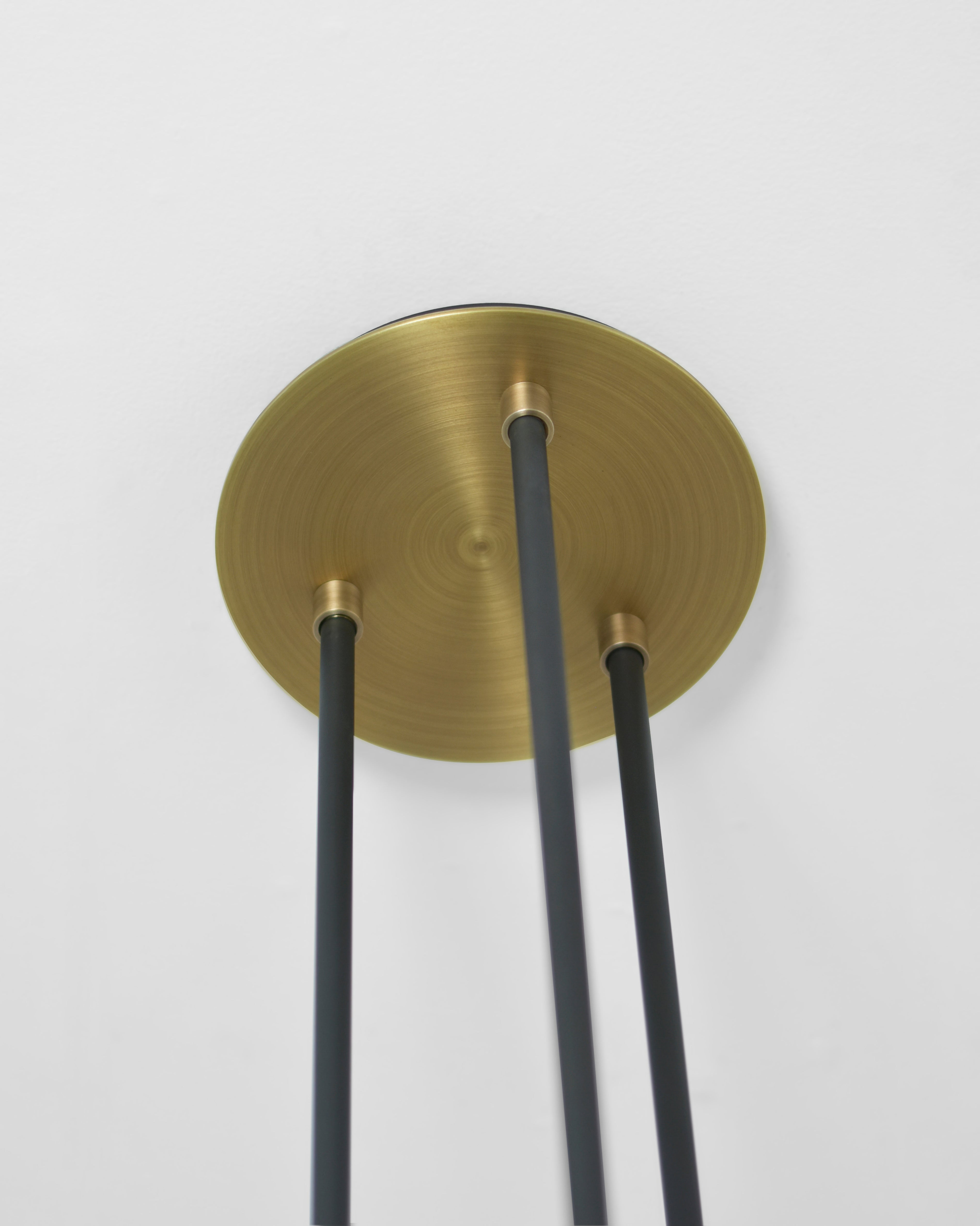 Light Antique Brass with Patinated Steel