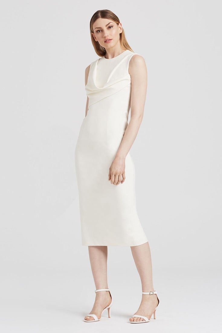 Drape Dress In Wheaton - Dresses