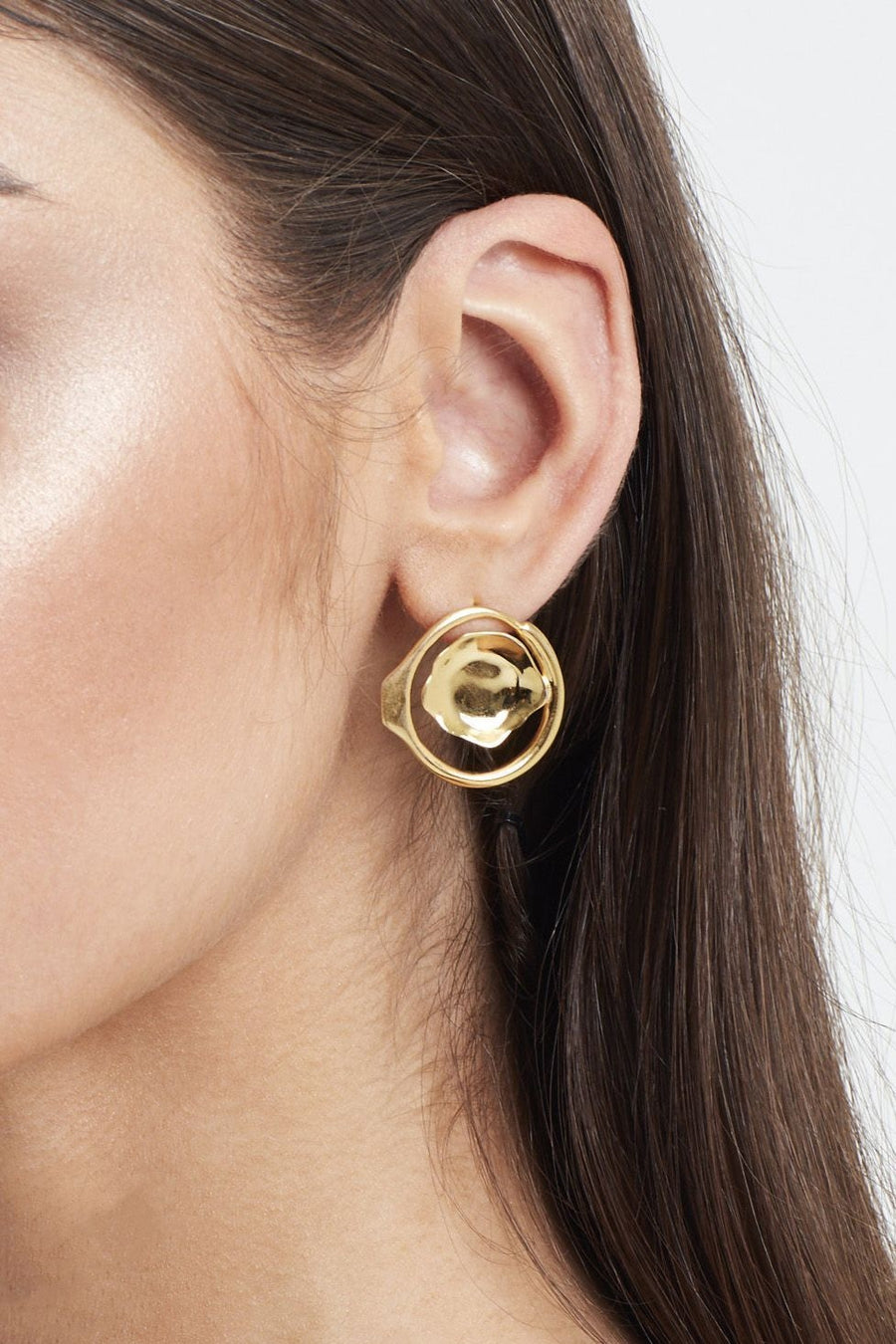 Radial Point Earring