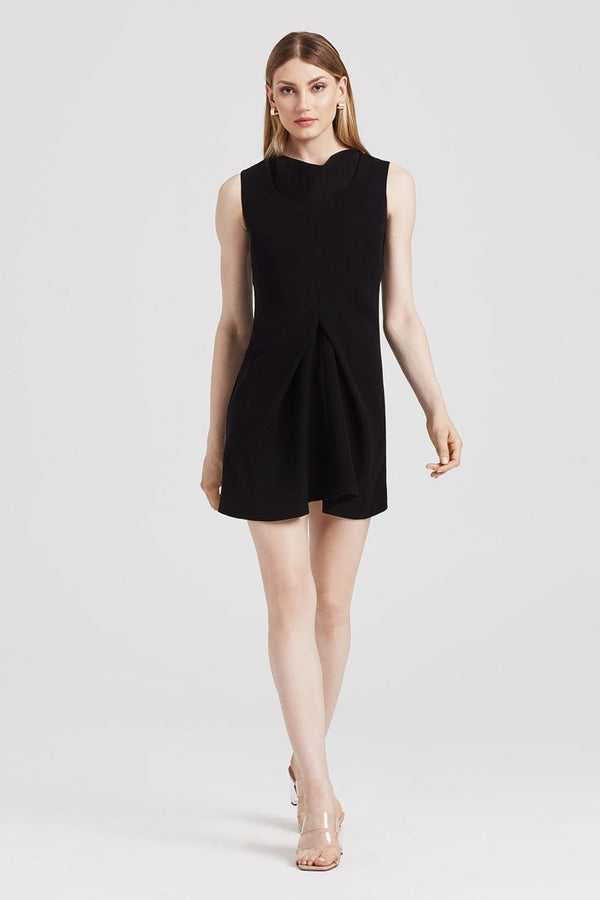 Origami Dress in Black - Dresses