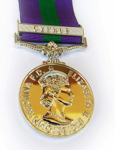GSM Cyprus WW2 Military Medal The General Service Medal Medal Repro
