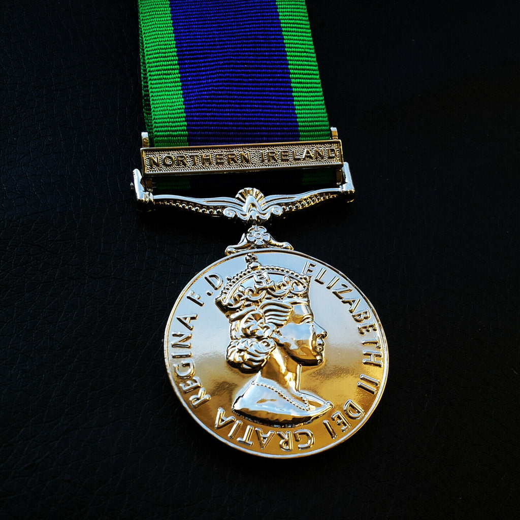 WW2 GSM Military Medal The General Service Medal Northern Ireland Medal Repro