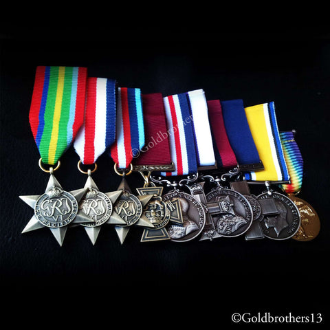 MILITARY MEDAL GROUP SET VICTORIA CROSS, MILITARY CROSS GEORGE VICTORY MEDAL WAR