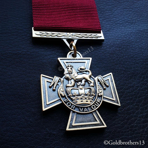 3x Set Victoria Cross , Conspicuous Gallantry Cross & George Cross Medals Repro