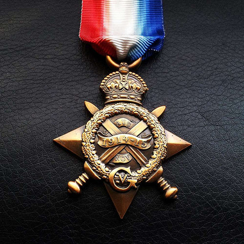 1914-15 Star / Mons Star WW1 Medal For British and Imperial Forces NEW Repro