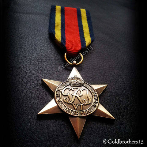 Burma star: British medal