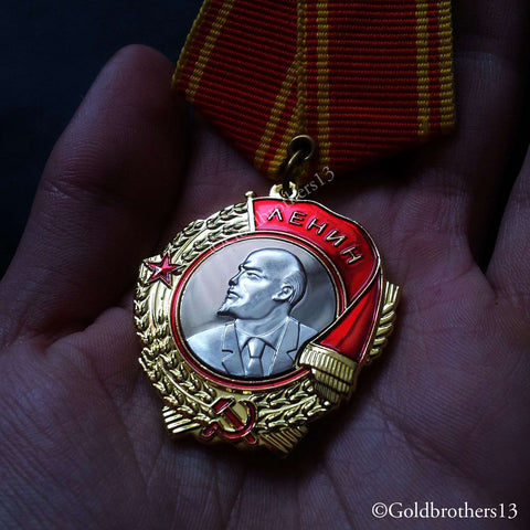 Russian medal USSR reproduction
