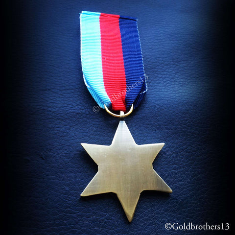 British Military Medal 1939 - 45 Star back