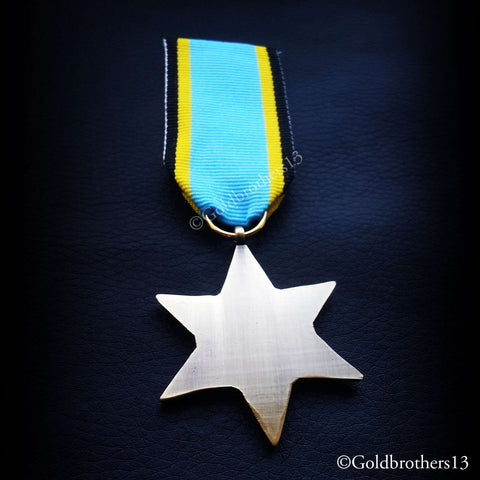 British Military Medal The Air Crew Europe Star back