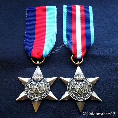 British Military Medal 1939 - 1945 and The Arctic Star