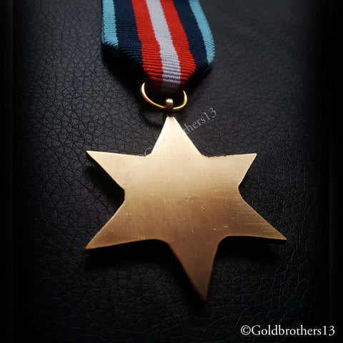 British Military Medal The Arctic Star back