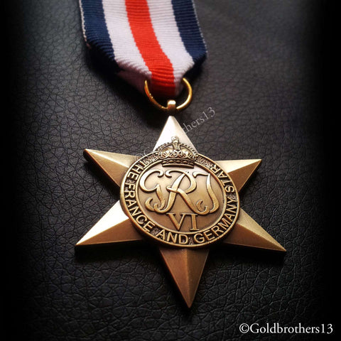 British WWII Pacific Star full size veteran replacement medal SUPERIOR QUALITY