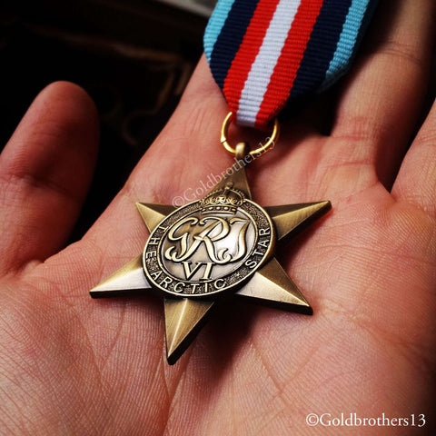 British Military Medal The Arctic Star