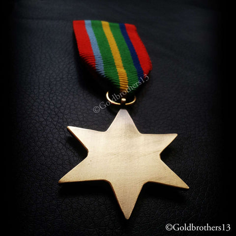 British arm military medal