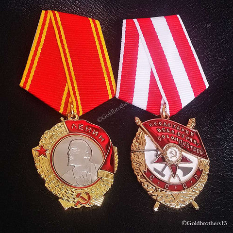 Order of The Red Star Russian Badge WW2 Soviet Military Decoration USSR Repro