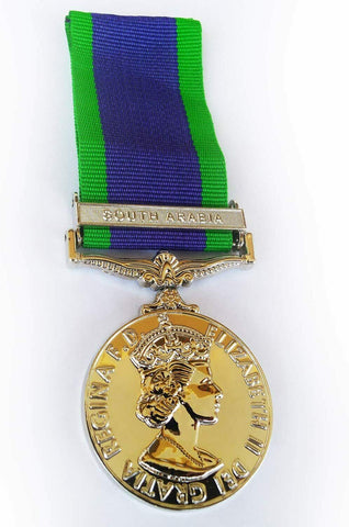 GSM South Arabia WW2 Military Medal The General Service Medal Medal Repro