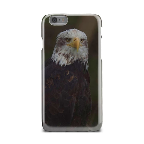 Angry Bald Eagle Vintage Retro American iPhone - Intrepid Soul