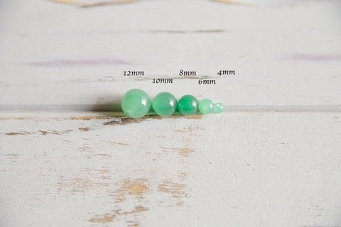 8mm African Jade Bracelet ~ Patience - Intrepid Soul