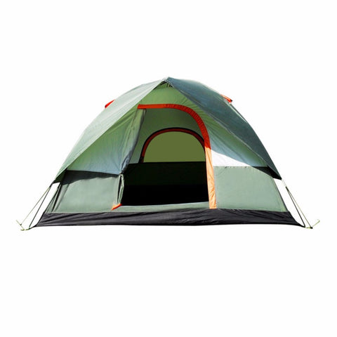 3-4 Person Camping Tent Dual Layer Waterproof
