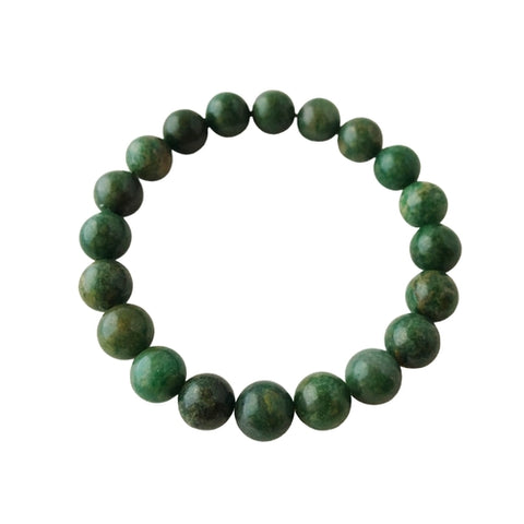 Image of 8mm African Jade Bracelet ~ Patience - Intrepid Soul