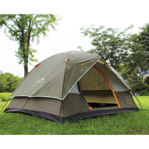 4 Person Double layer Waterproof Weather Resistant Camping Tent