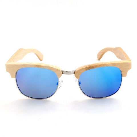 Bamboo Sunglasses UV400 Unisex Eyewear