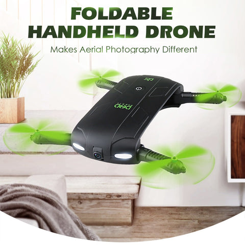 Wifi FPV 480P HD Foldable Selfie Drone Mini Drone
